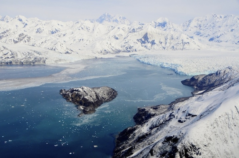 Hubbard Glacier Aerial Image, photo 1